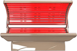 red light therapy tanning bed